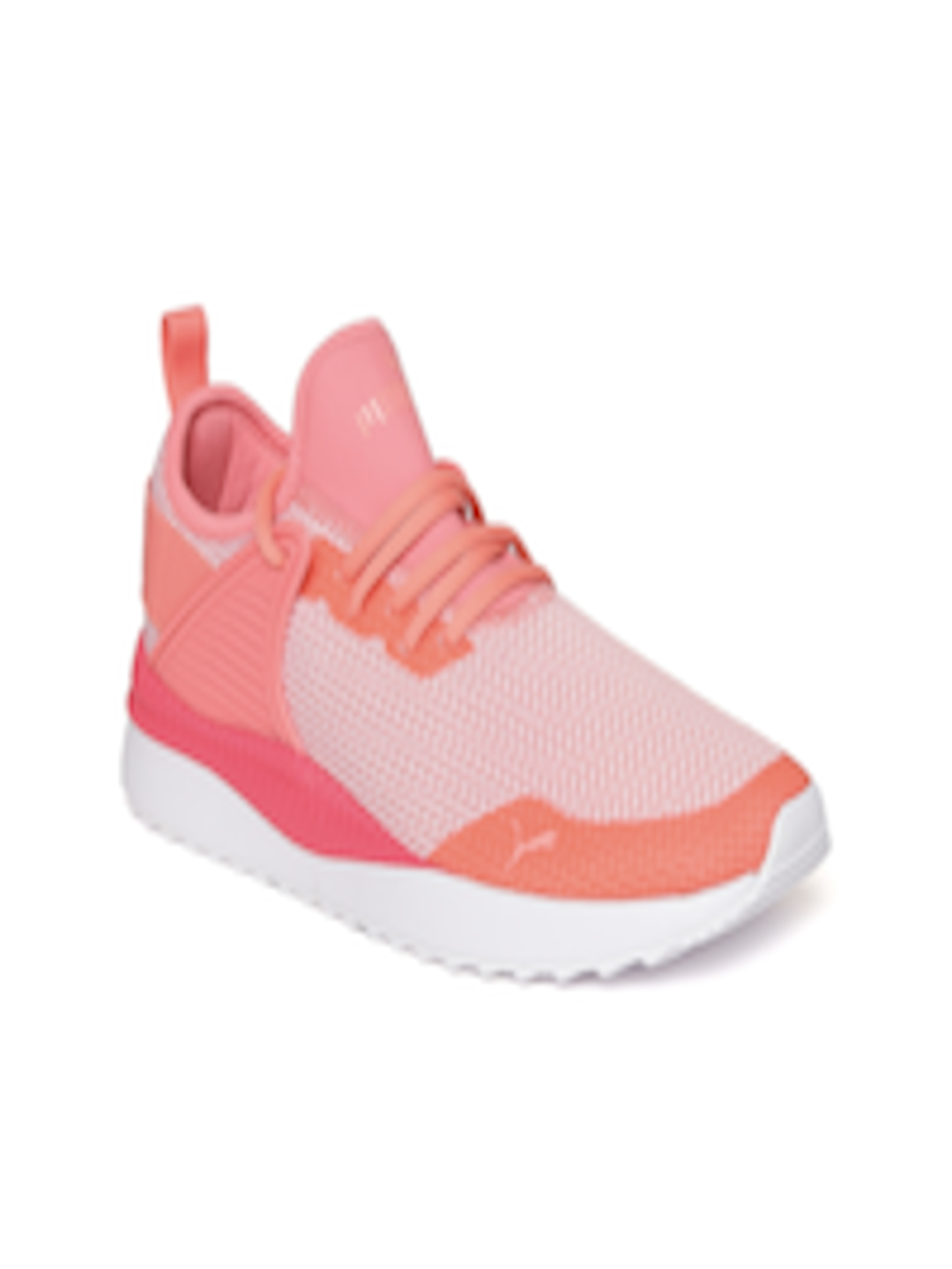Buy Puma Women Pink   White Pacer Next Cage GK Woven Design Sneakers - Casual  Shoes for Women 2454554  f1094311a