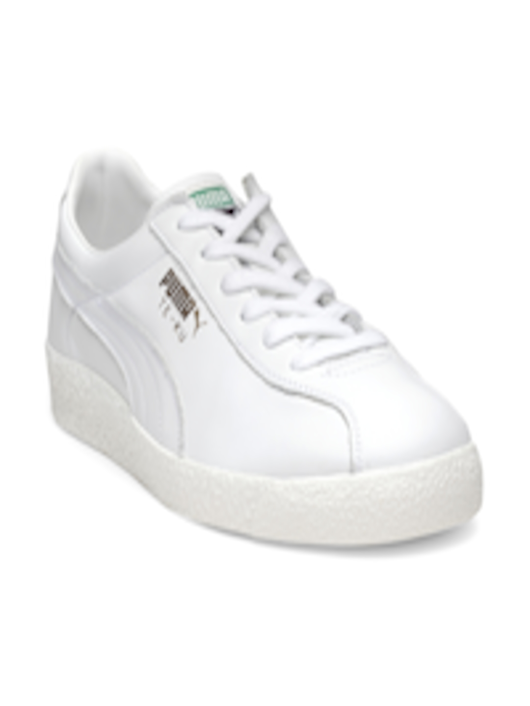 53aebd60c7182c Buy Puma Men White Te Ku Core Leather Sneakers - Casual Shoes for Men  2454569