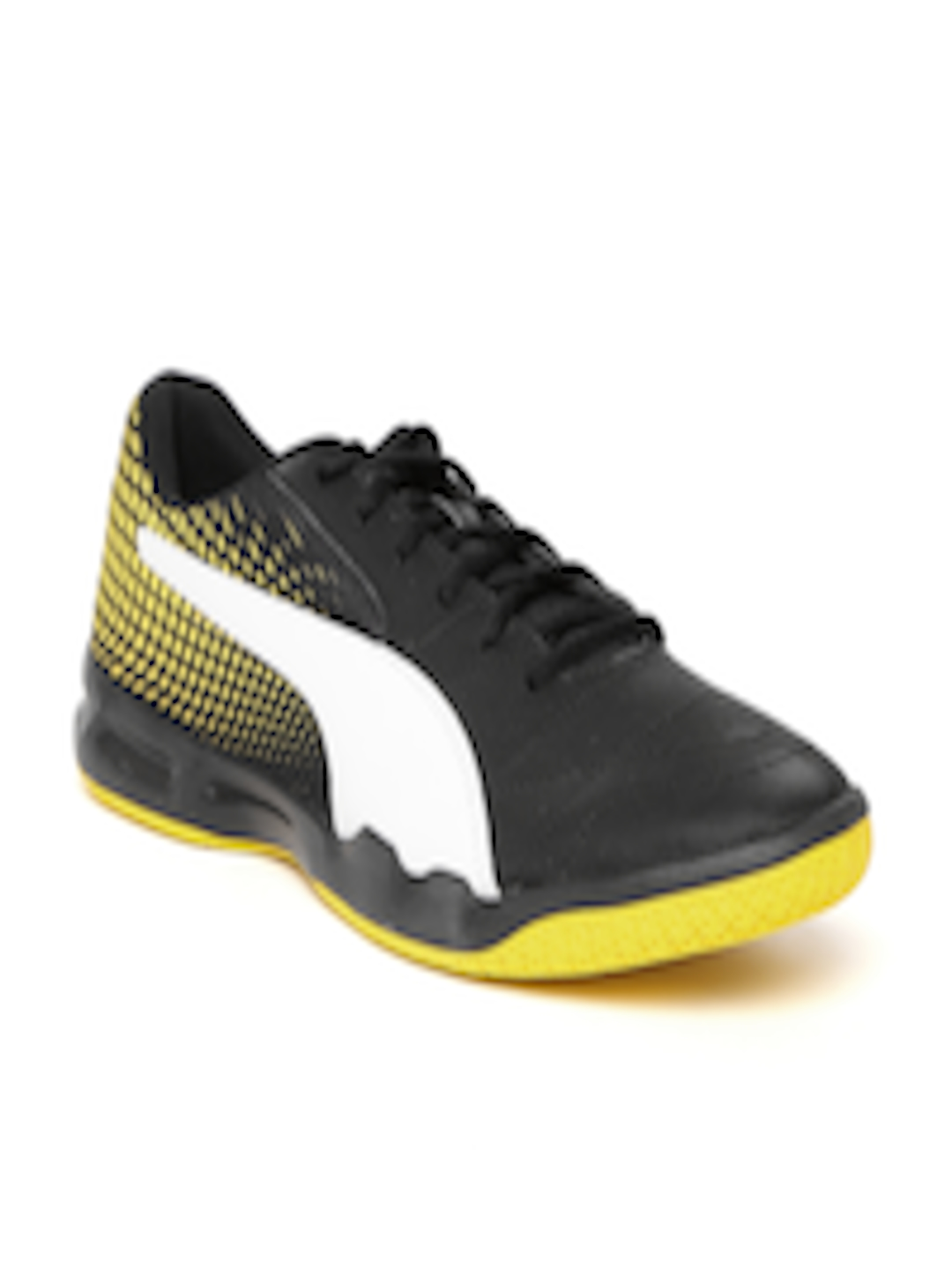 4ecebc82f08 Buy Puma Men Black Veloz Indoor NG Badminton Shoes - Sports Shoes for Men  2454580