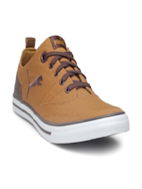 5cf1bedaaf5 Buy Puma Men Camel Brown Slyde NU IDP Sneakers - Casual Shoes for ...