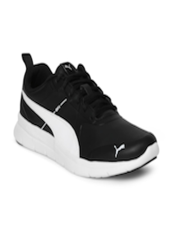 Buy Puma Men Black Flex Essential SL Running Shoes - Sports Shoes for Men  2455021  40c40fc80