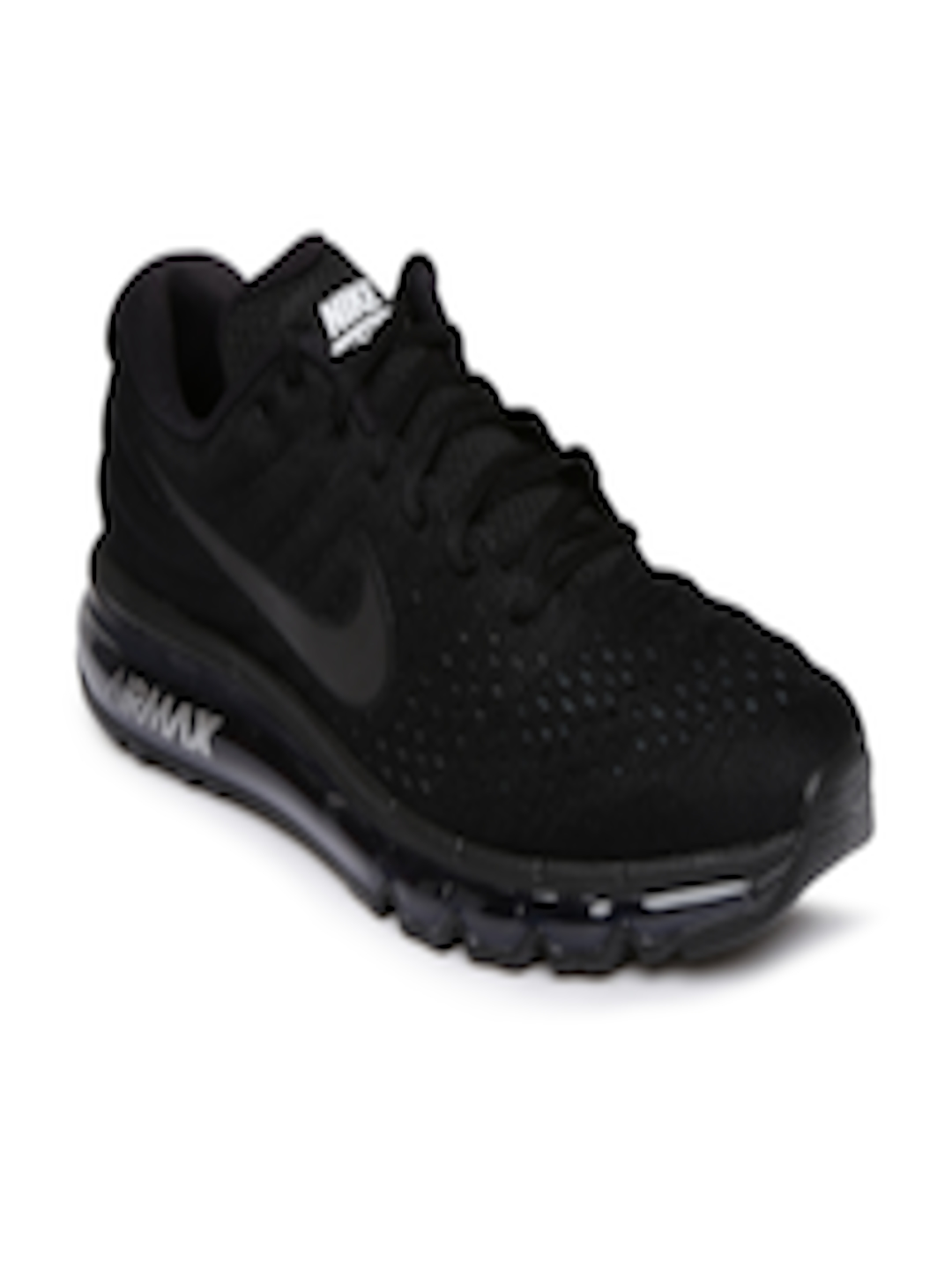 sports shoes d37dd f0188 Buy Nike Men Black Air Max 2017 Running Shoes - - Footwear for Men