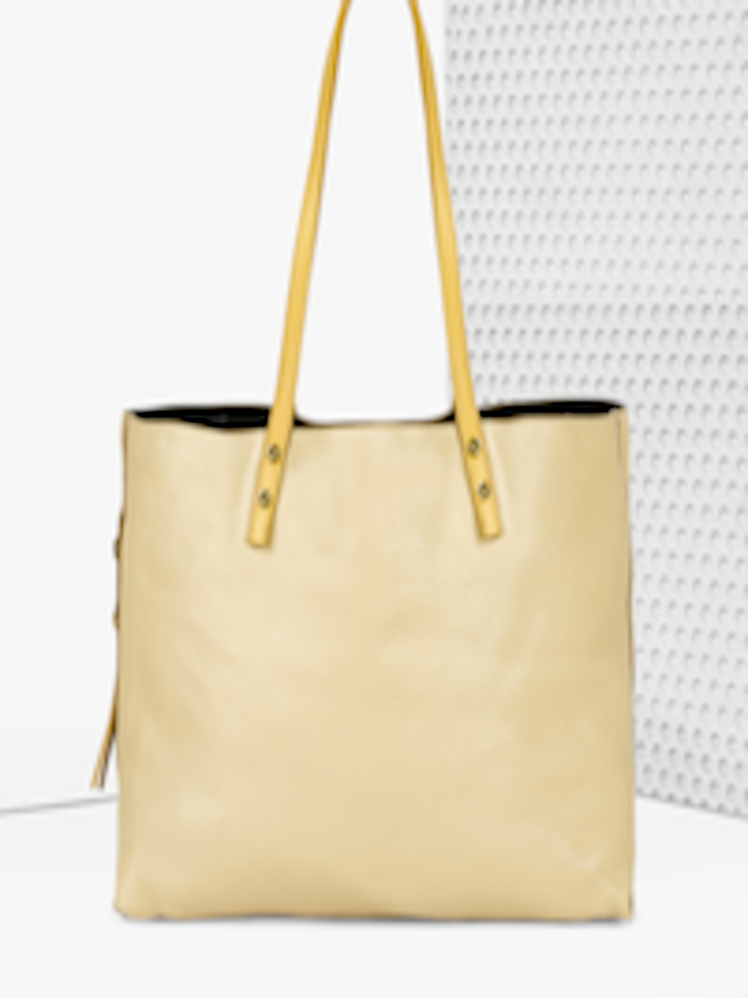 6d9e2d0ab3 Buy Chloe Beige Solid Tote Bag - - Accessories for Women