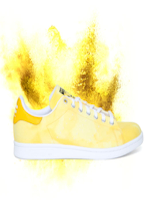 best sneakers 050da 8c882 Buy ADIDAS Originals Men Yellow HU Holi Stan Smith Sneakers - - Footwear  for Men