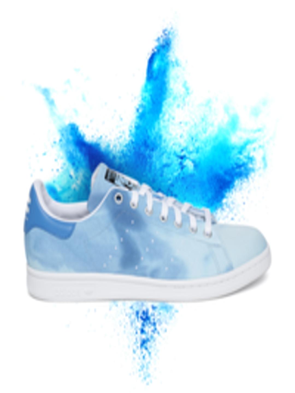 free shipping 9f5b9 93a6b Buy ADIDAS Originals Men Blue HU Holi Stan Smith Sneakers - - Footwear for  Men
