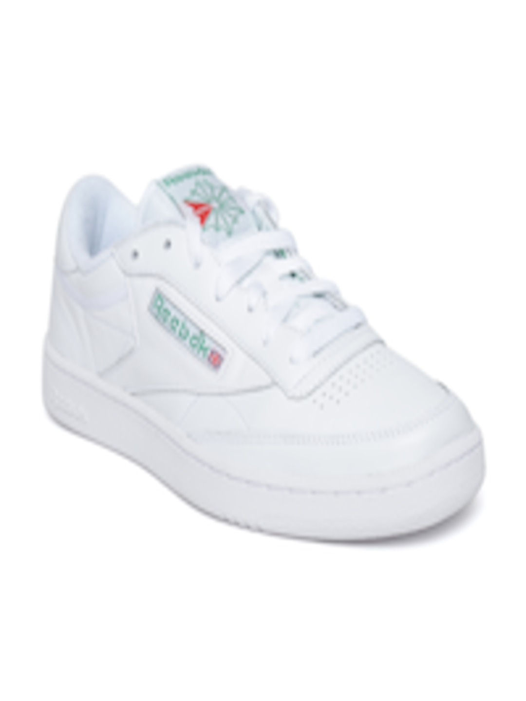 4b271ec090254 Buy Reebok Classic Men White Club C 85 Archive Leather Sneakers - Casual  Shoes for Men 2496293