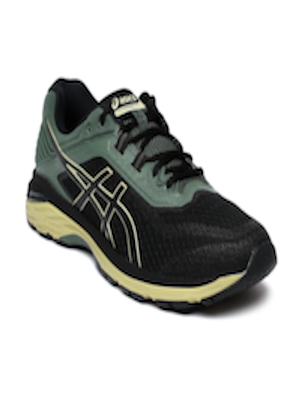98bac799 Buy Asics Black & Green GT 2000 6 Running Shoes - - Footwear for Men