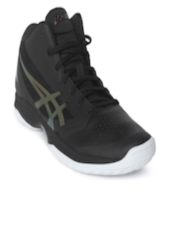 7a323d61f686 Buy ASICS Men Black GELHOOP V 10 Basketball Shoes - Sports Shoes for Men  2505814