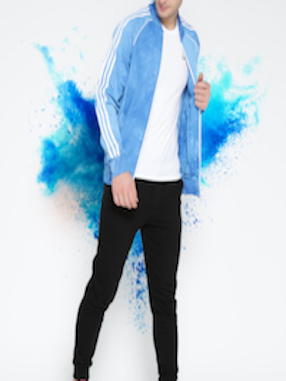 382437d42e4d2 Buy ADIDAS Originals Men Blue HU HOLI SSTR TT Dyed Jacket - Jackets for Men  2506047