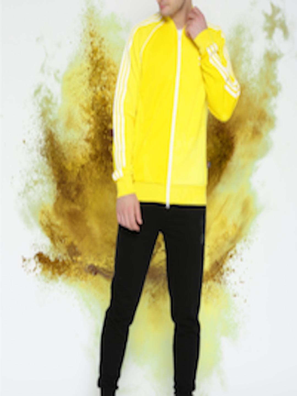 0019b5128dff8 Buy ADIDAS Originals Men Yellow HU HOLI SSTR TT Jacket - Jackets for Men  2506053