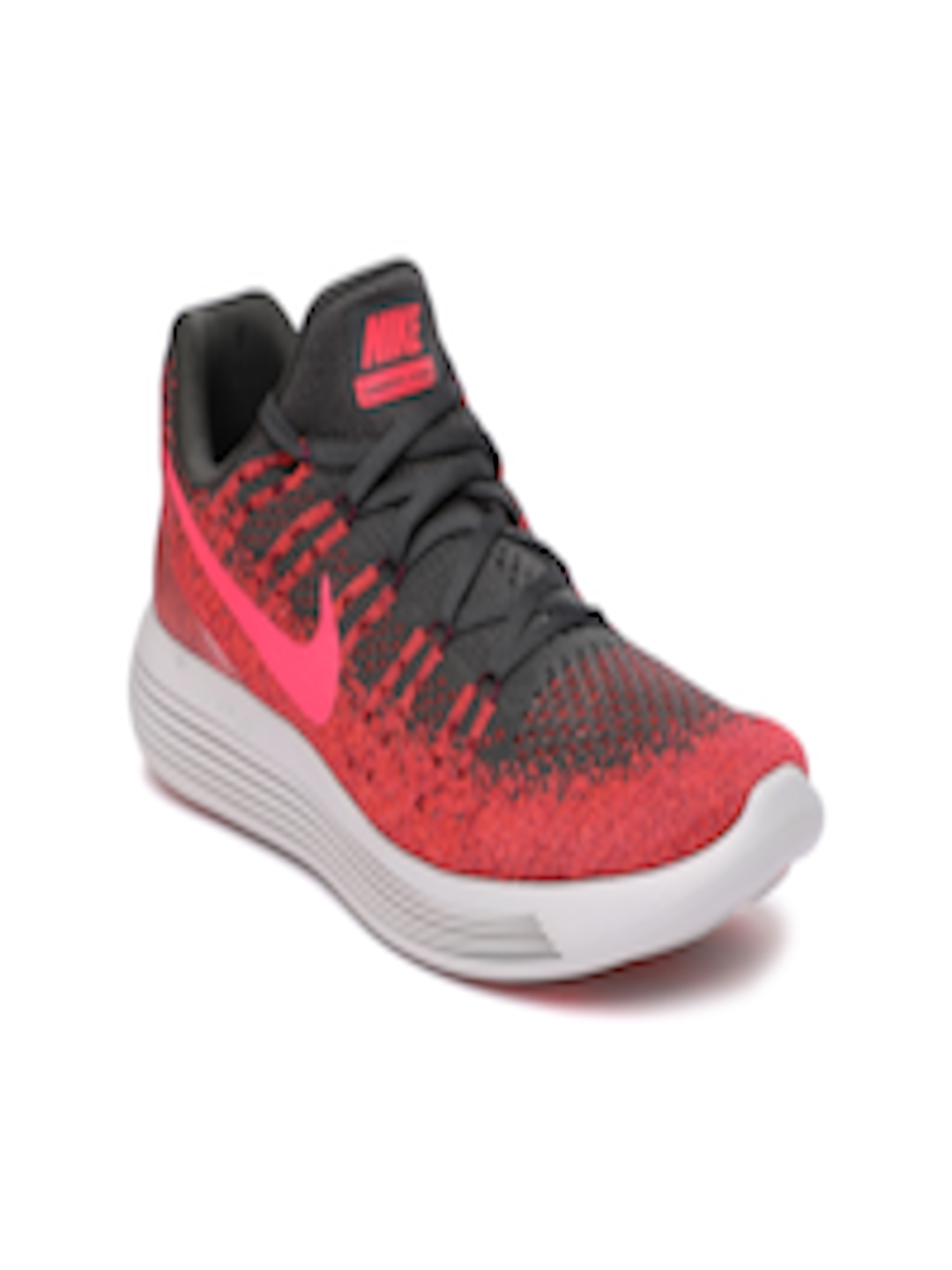 quality design 82a9f d34b2 Buy Nike Women Red & Black LunarEpic Low Flyknit 2 Running Shoes - -  Footwear for Women
