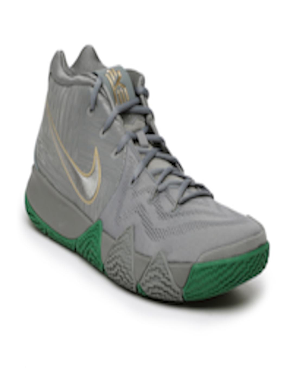 sale retailer 3a4f7 c83b6 Buy Nike Men Grey Kyrie 4 Basketball Shoes - - Footwear for Men