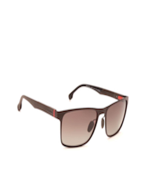 d3f18bc0f2a9c Buy Carrera Unisex Polarised Rectangle Sunglasses 8026 S YZ4 57LA -  Sunglasses for Unisex 2525594