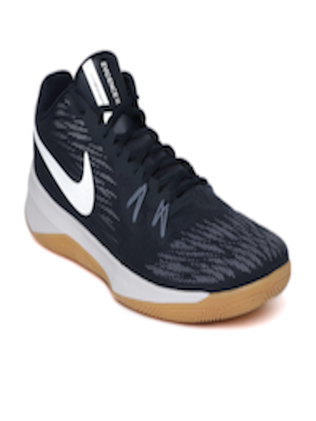 best sneakers 166fe 893a9 Buy Nike Men Navy ZOOM EVIDENCE II Basketball Shoes - Sports Shoes for Men  2528124   Myntra