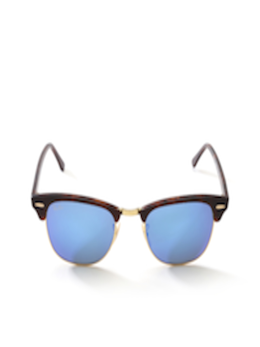 4fc8f968635 Buy Ray Ban Men Mirrored Clubmaster Sunglasses 0RB3016 114517 - Sunglasses  for Men 255577