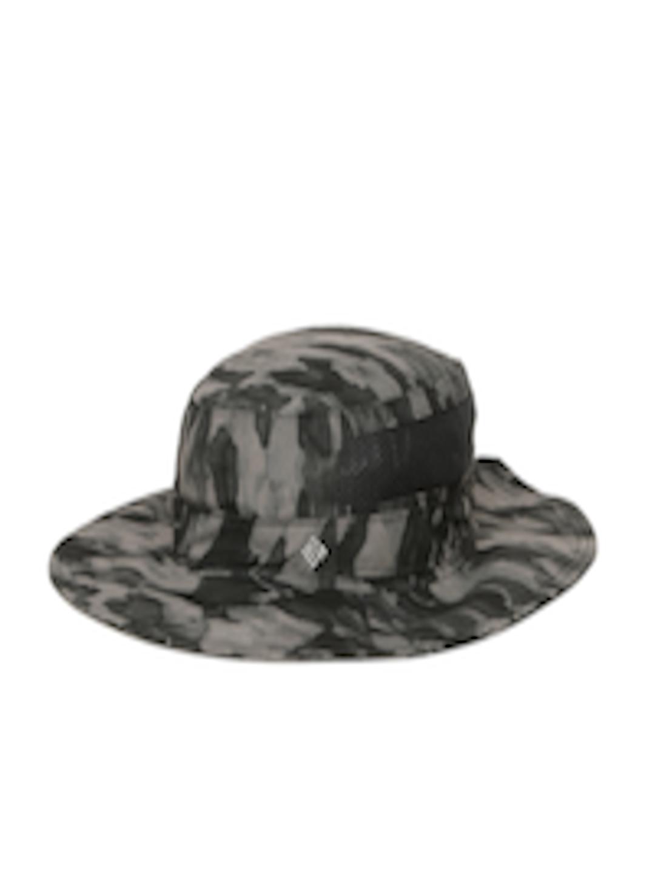 Buy Columbia Unisex Grey   Black Bora Bora Print Booney Floppy Hat - Hat  for Unisex 2591671  205edc57623a