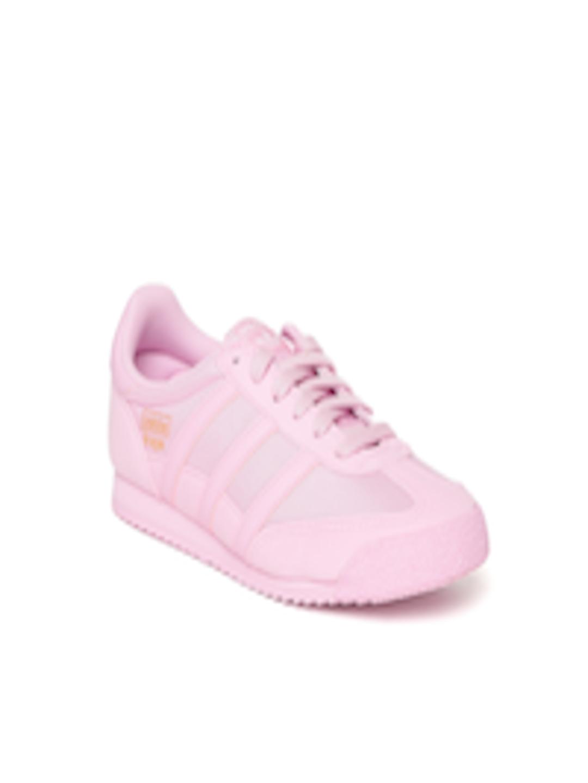 new product 735ca 87450 ADIDAS Originals Unisex Pink Dragon OG Junior Sneakers