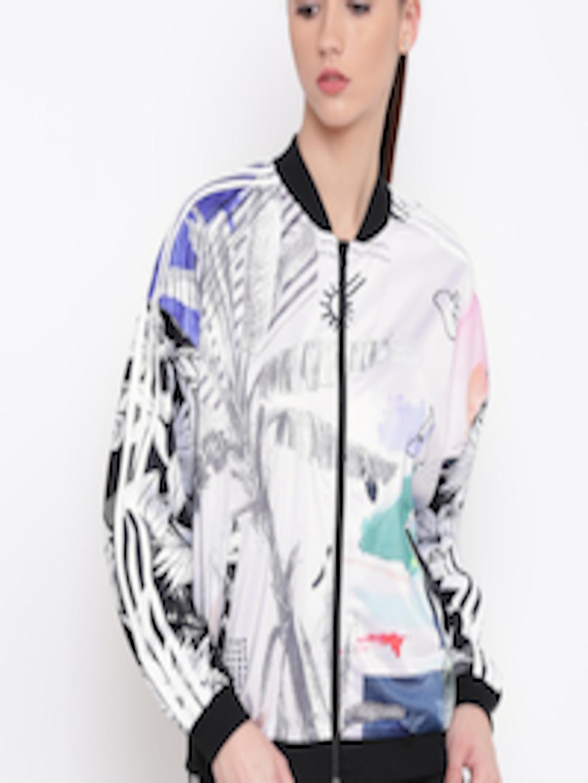 1eb231fc15e Buy ADIDAS Originals Multicoloured SST TT Printed Track Jacket - Jackets  for Women 3888804