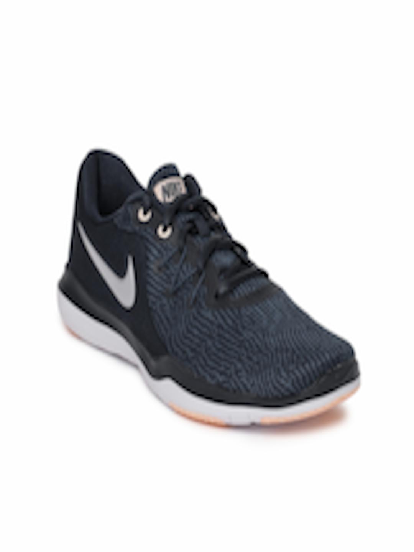 27236c697e43 Buy Nike Women Navy Blue Flex Supreme TR 6 Training Shoes - Sports Shoes  for Women 4030185