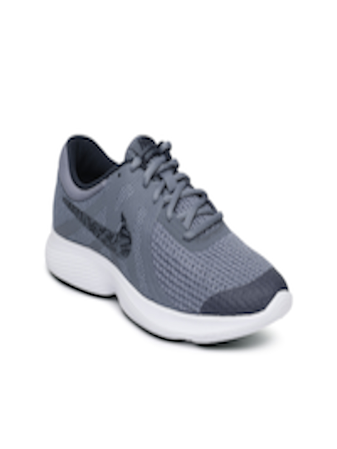 01d81a4db389 Buy Nike Boys Grey Revolution 4 (GS) Running Shoes - Sports Shoes ...