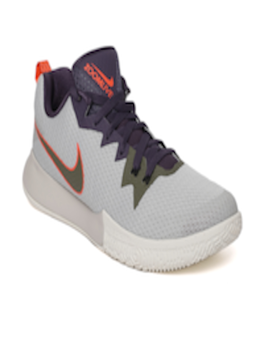 2713cbcc03794 Buy Nike Men Grey   Navy Zoom Live II Basketball Shoes - Sports Shoes for  Men 4030217