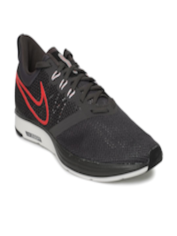 f5c9118af6b6 Buy Nike Men Charcoal Grey Zoom Strike Running Shoes - Sports Shoes for Men  4030222