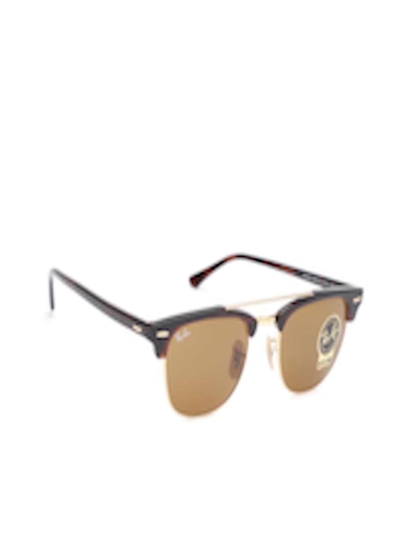 69c4471e478 Buy Ray Ban Unisex Clubmaster Sunglasses 0RB3816990 3351 - Sunglasses for  Unisex 4118147