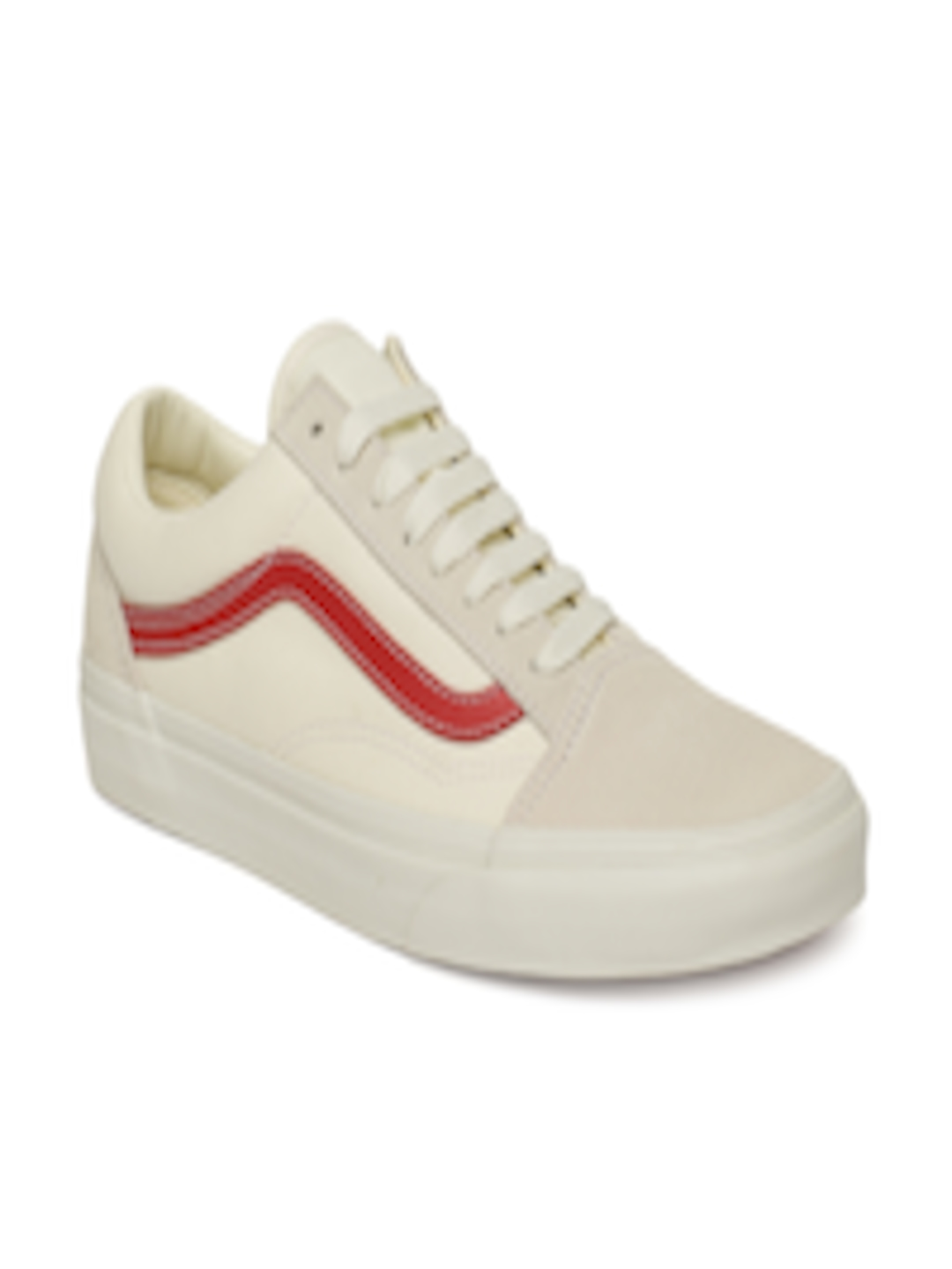 d7cc17a75d Buy Vans Unisex Off White Old Skool Sneakers - Casual Shoes for Unisex  4296347