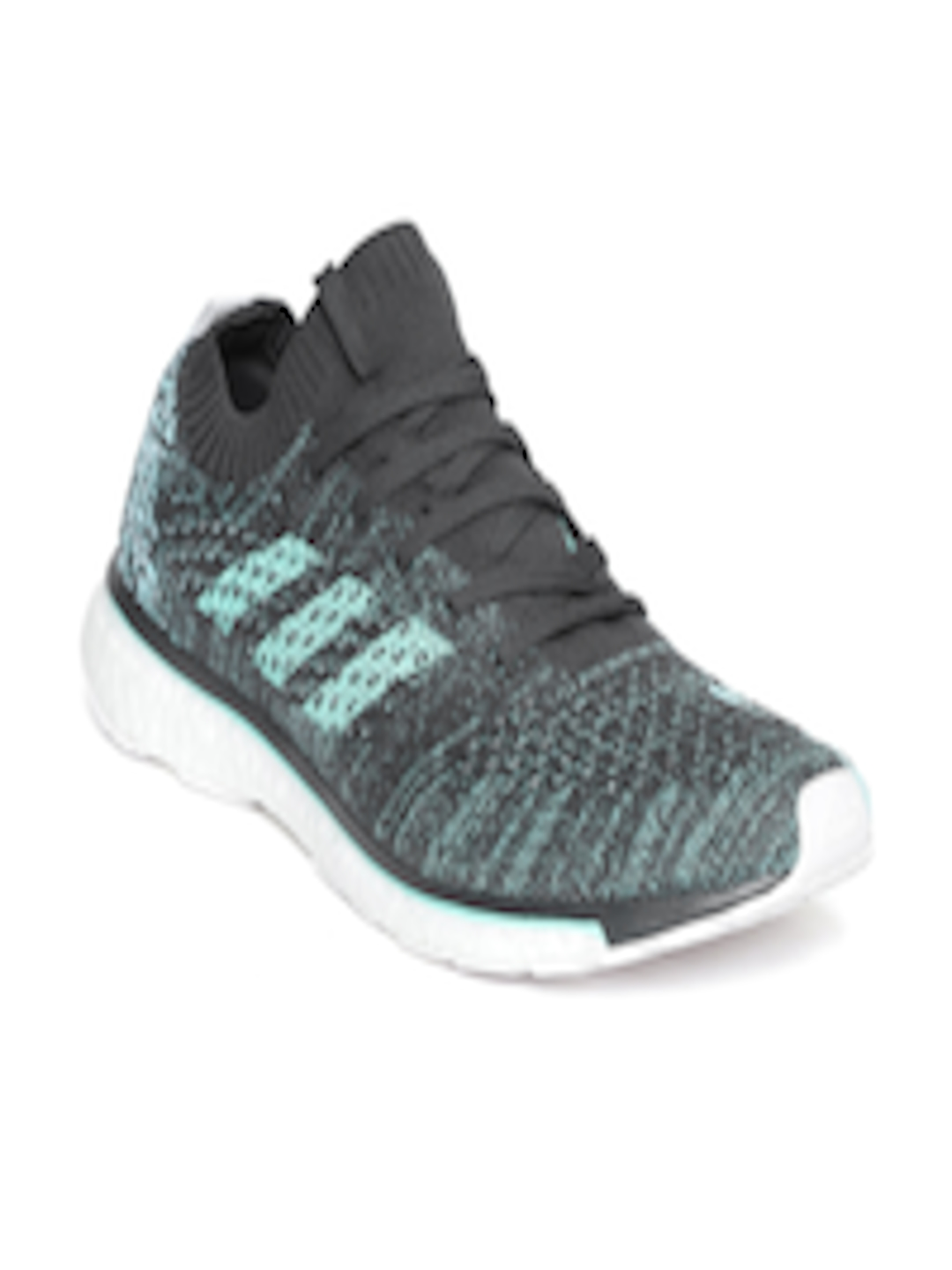 sports shoes ea344 e556f Buy ADIDAS Unisex Charcoal Grey  Blue Adizero Prime Parley Running Shoes -  Sports Shoes for Unisex 4319683  Myntra