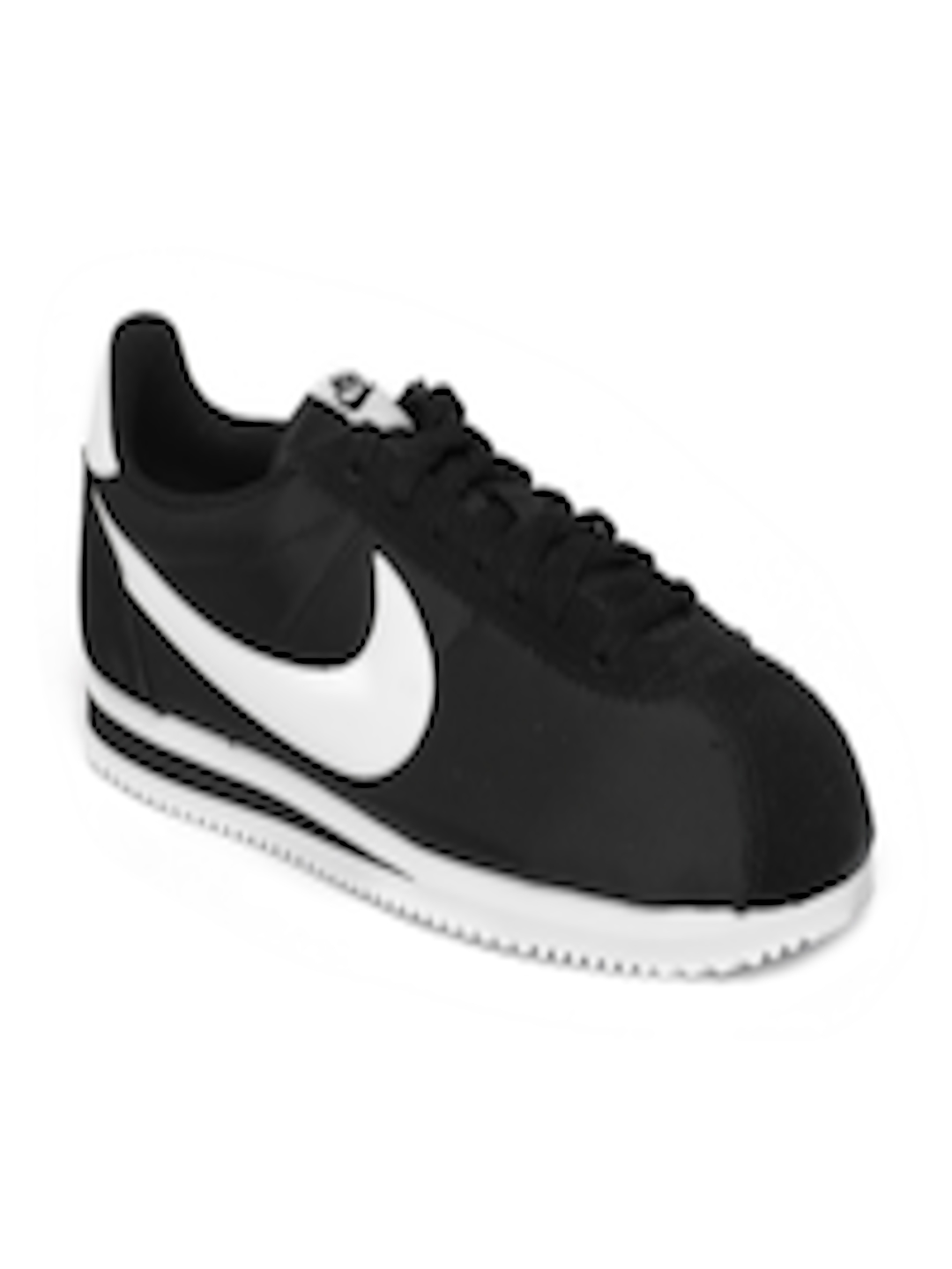 watch 2d7c3 aa36b Buy Nike Men Black Classic Cortez Sneakers - Casual Shoes for Men 4330849    Myntra