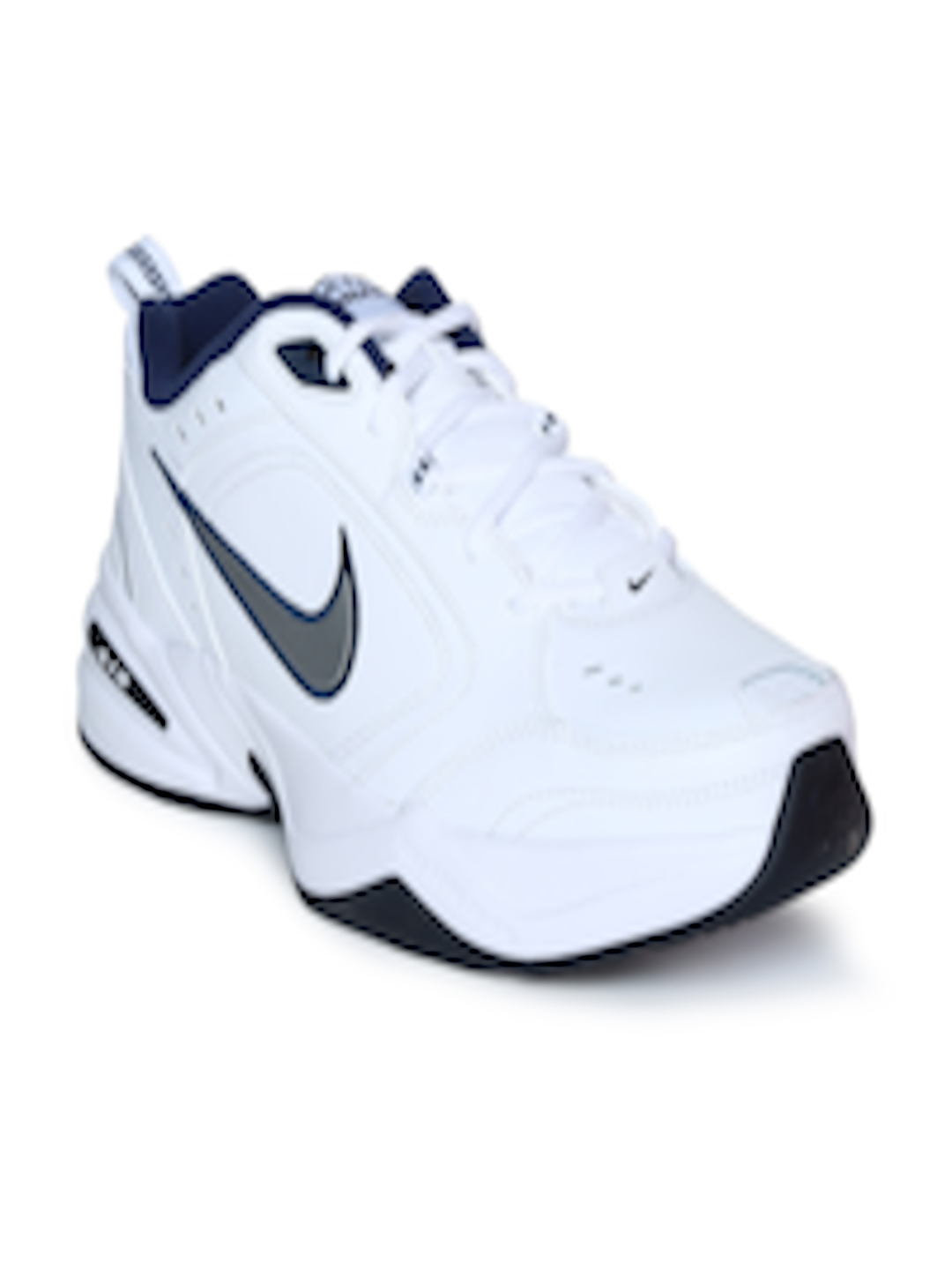 popular brand fashion style size 40 Buy Nike Men White AIR MONARCH IV Training Shoes - - Footwear for Men