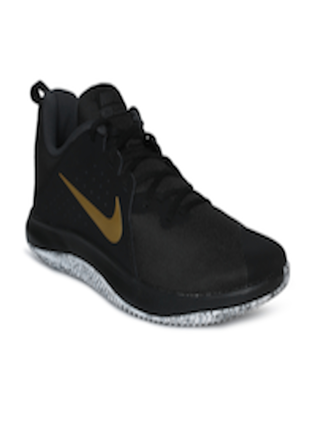 100% authentic 8a5e1 698ea Buy Nike Men Black FLY BY LOW Basketball Shoes - Sports Shoes for Men  4330912   Myntra