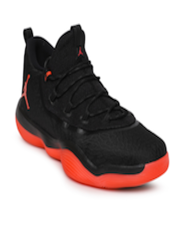 2b14637d950a Buy Nike Men Black Textured Jordan Super.Fly 2017 Low Basketball Shoes - Sports  Shoes for Men 4330959