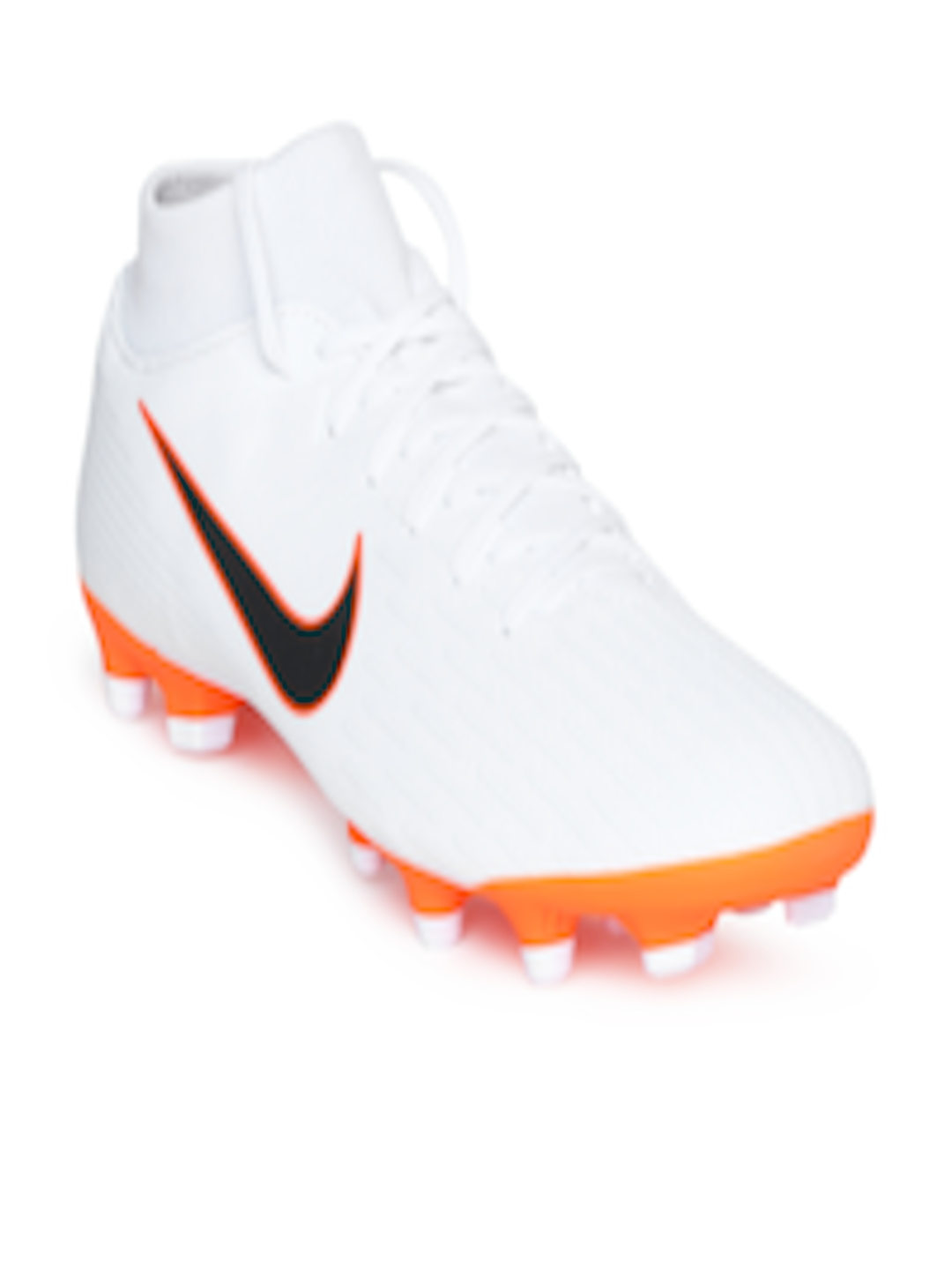 241f43d61 Buy Nike Men White SUPERFLY 6 ACADEMY Football Shoes - Sports Shoes ...