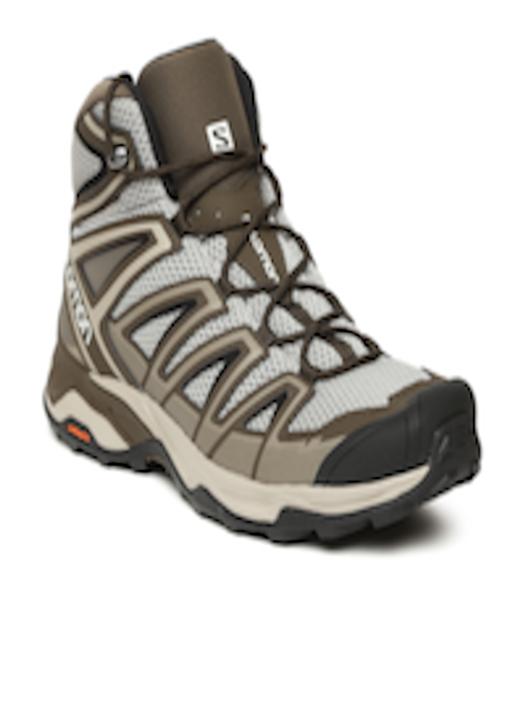 0cf3107642b Buy Salomon Men Brown X ULTRA MID 3 AERO Mid Top Trekking Shoes - -  Footwear for Men