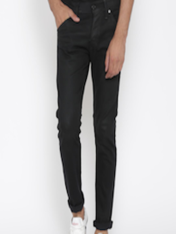 724121ff Buy Jack & Jones Men Black Glenn Slim Fit Jeans - Jeans for Men 509367 |  Myntra