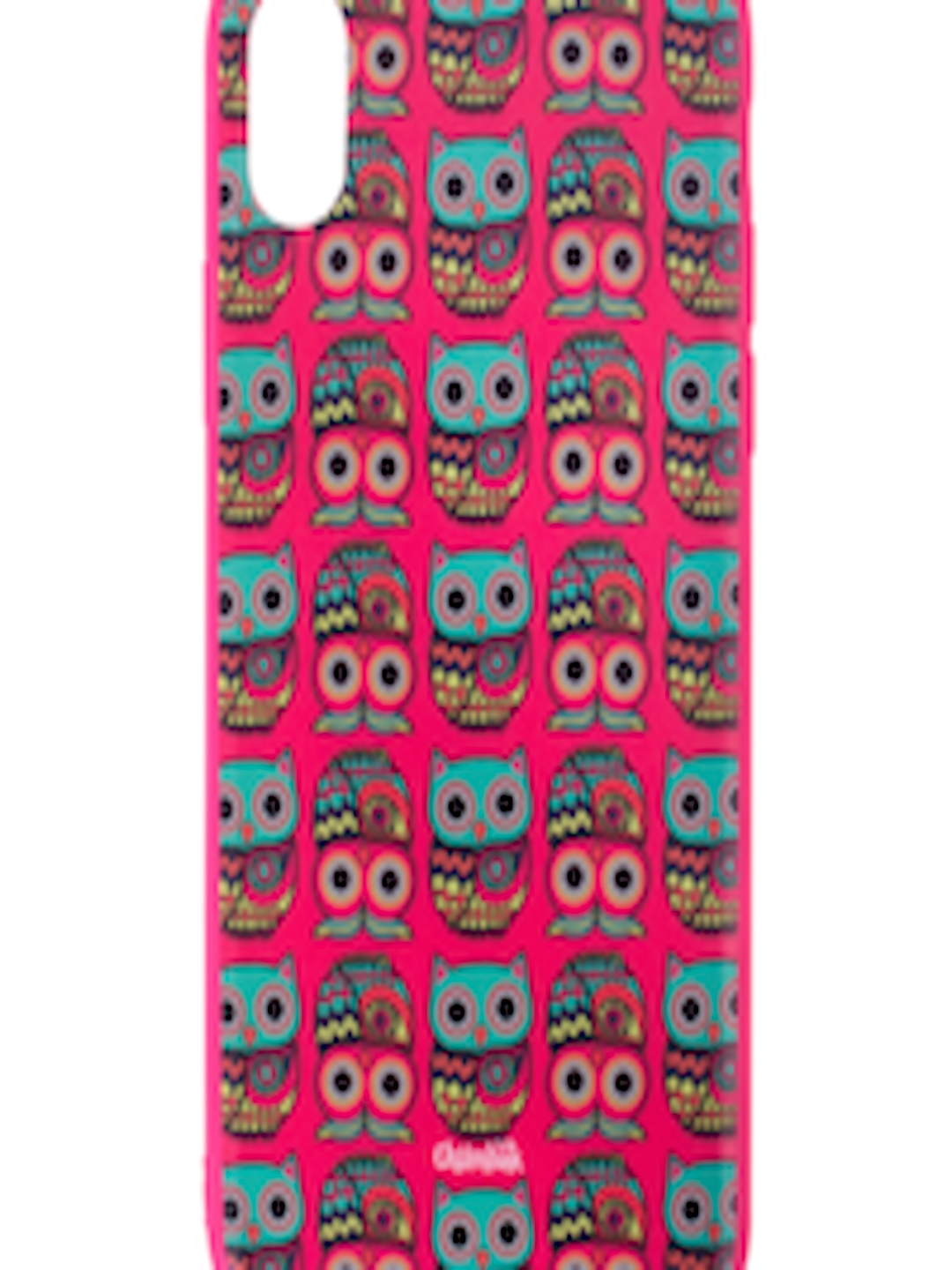 release date 2b910 e1f56 Buy Chumbak Pink Printed IPhone X Case - - Accessories for Unisex