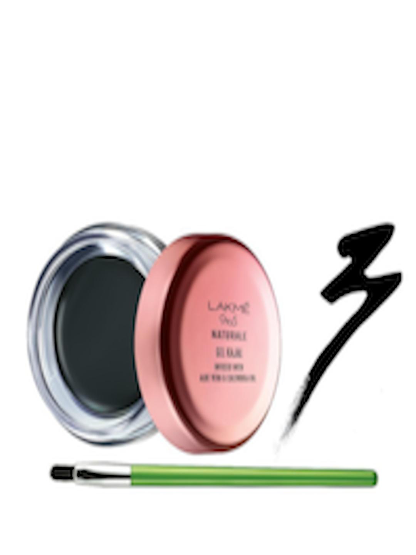 694f30996d1 Buy Lakme 9 To 5 Naturale Black Gel Kajal 3 G - Kajal And Eyeliner for  Women 5803205   Myntra