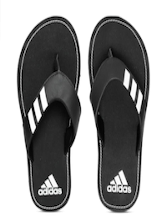 5b350b474d30ca Buy ADIDAS Men Black Coset Printed Thong Flip Flops - Flip Flops for Men  6632905