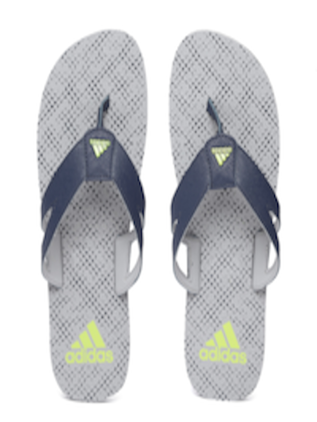 a54e88b1109d Buy ADIDAS Men Navy Blue   Grey OZOR Printed Thong Flip Flops - Flip ...