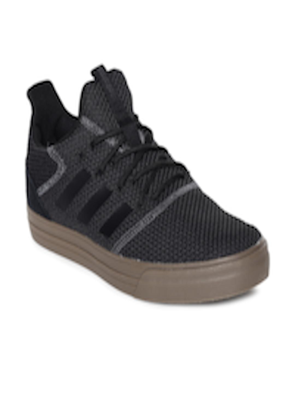 Buy ADIDAS Men Black & Grey True Street Skateboarding Shoes Footwear for Men