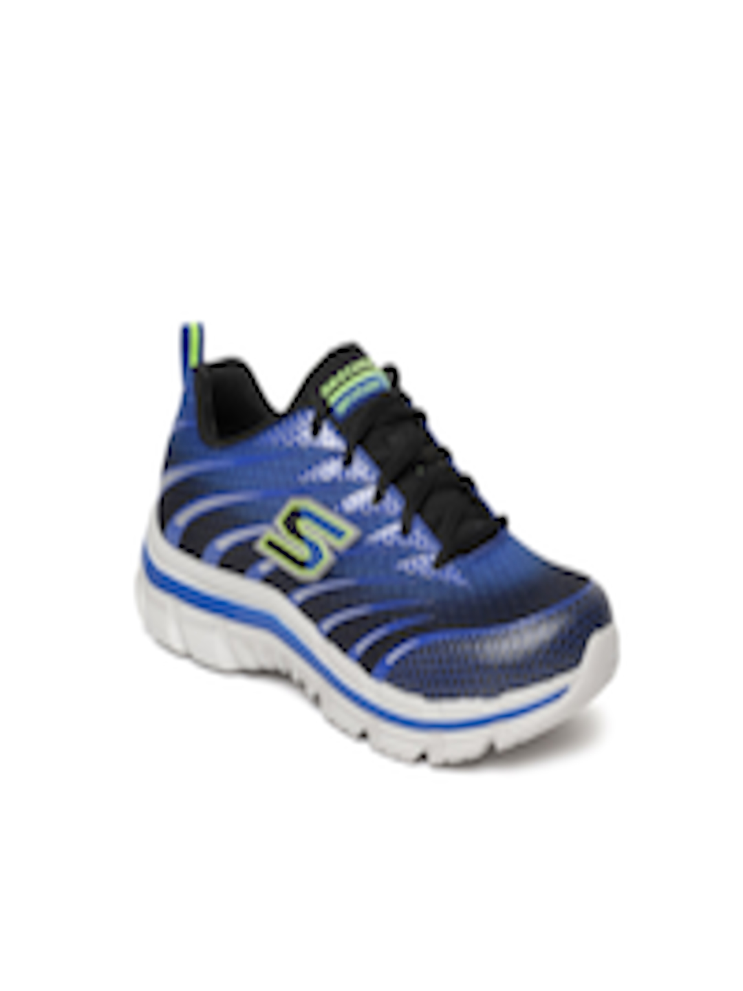5b623bf3099c Buy Skechers Boys Blue Nitrate Training Or Gym Shoes - Sports Shoes for Boys  6672719