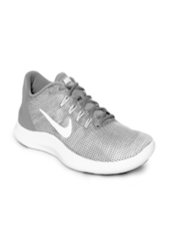 best service 8dc6b 3ce19 Buy Nike Men Grey Flex 2018 RN Running Shoes - - Footwear for Men