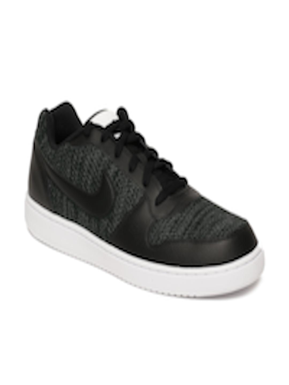 d1dbc4540d23 Buy Nike Men Black Ebernon Low Premium Sneakers - Casual Shoes for Men  6676838