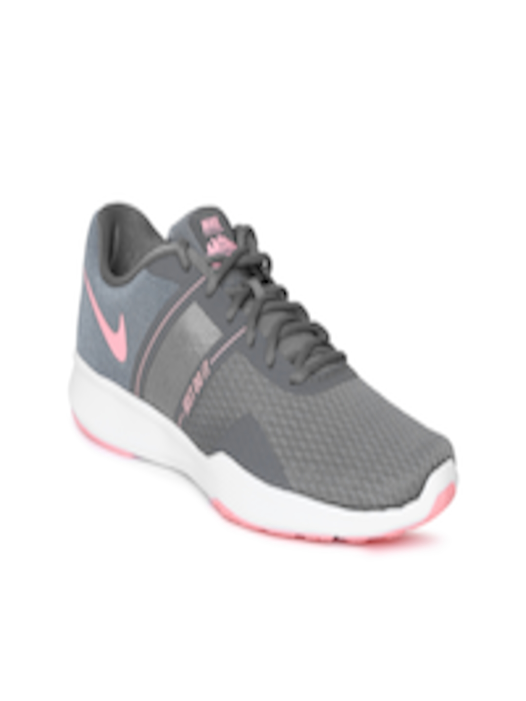 27c26a804 Buy Nike Women Grey   Pink CITY TRAINER 2 Training Shoes - Sports Shoes for  Women 6676857