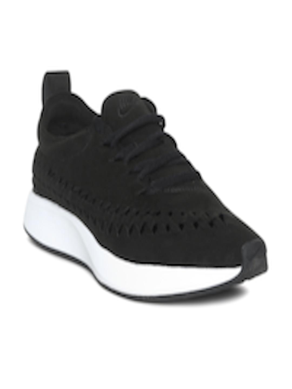 b673fbf20f3 Buy Nike Men Black Dualtone Racer Woven Sneakers - Casual Shoes for Men  6676892