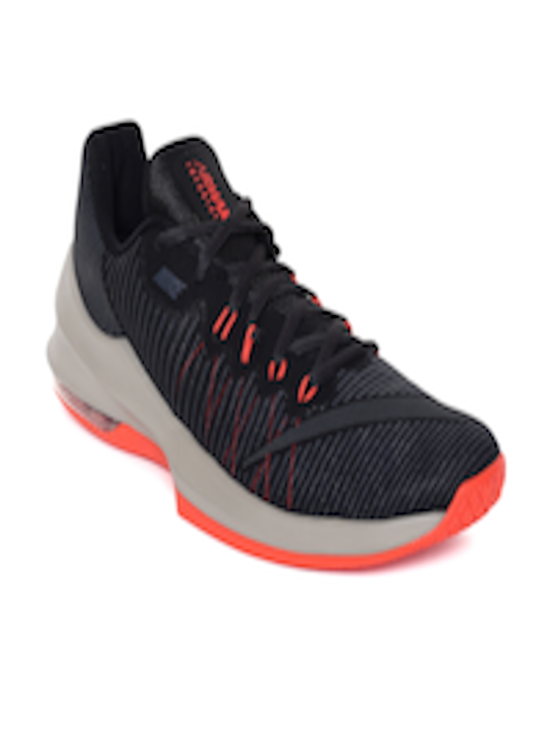 b50f5ca1d61 Buy Nike Men Black Air Max Infuriate 2 Low Basketball Shoe - Sports Shoes  for Men 6676895 | Myntra
