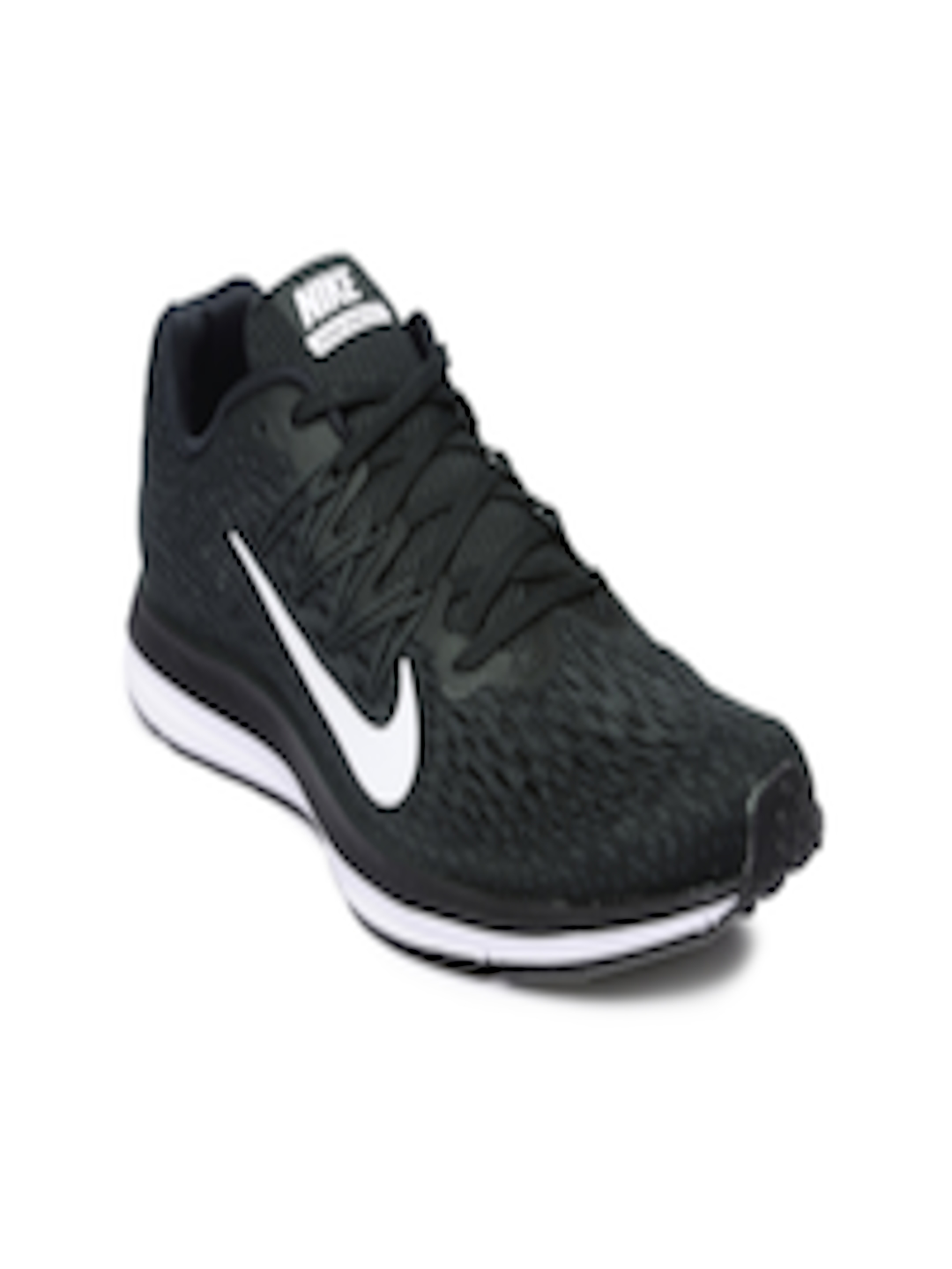 check out 6e856 1a8f6 Buy Nike Women Black Air Zoom Winflo 5 Running Shoes - - Footwear for Women