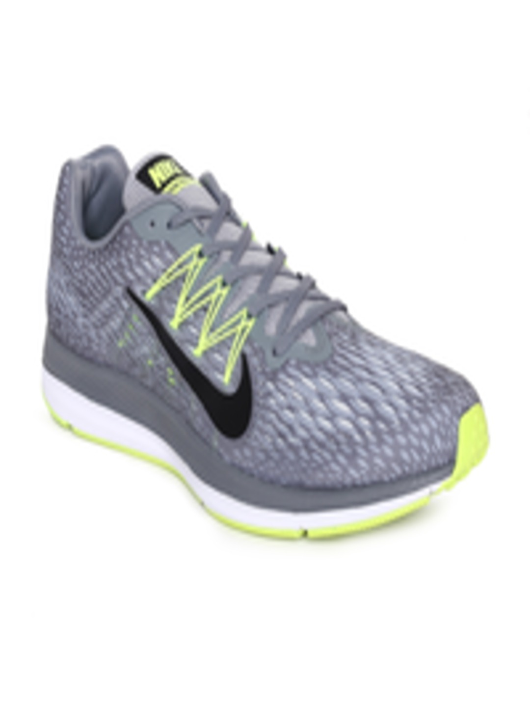 c61e8bc66b493 Buy Nike Men Grey Air Zoom Winflo 5 Running Shoes - Sports Shoes for Men  6676917