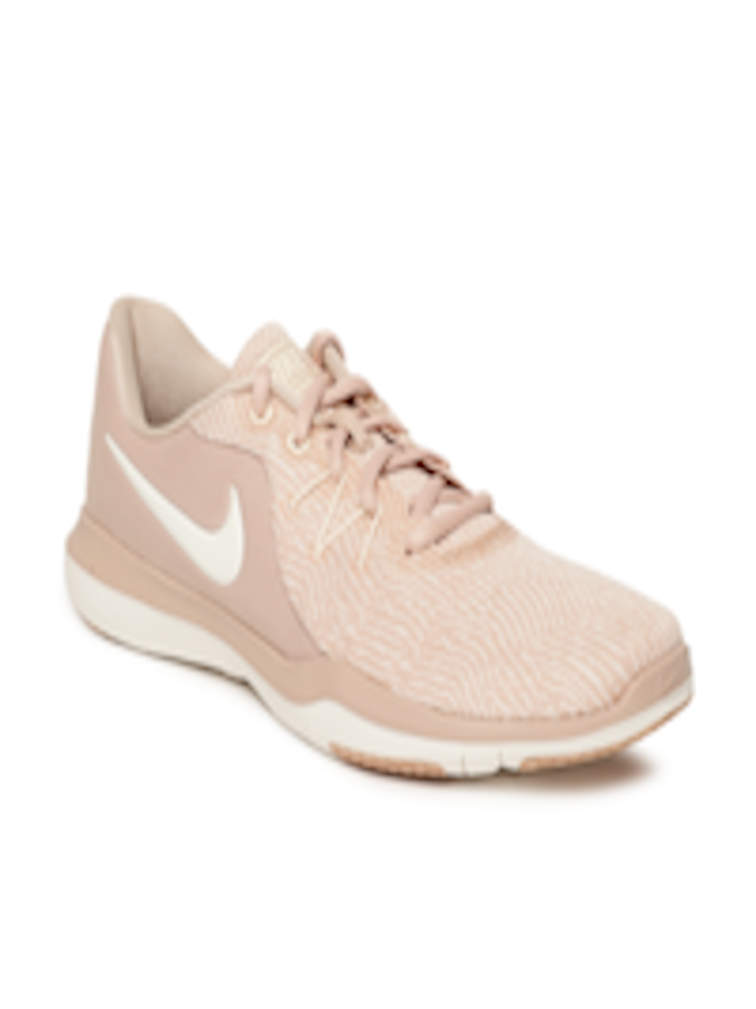 443b2a452499d Buy Nike Women Peach Coloured Flex Supreme TR 6 Training Or Gym Shoes -  Sports Shoes for Women 6676967